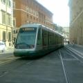 Tram 8 al Capolinea di Piazza Venezia - Foto Omar Cugini