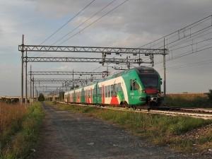 Il regionale Bologna-Milano di Tper effettuato con Etr350 Fer - Foto Ferdinando Ferrari