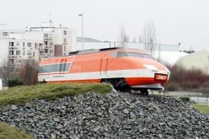 Il TGV001 monumentato