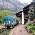 Aln 663 in sosta in stazione a Prè Saint Didier - Foto Giovanni Giglio