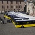 I nuovi bus a Metano in servizio a Modena - Foto Seta spa