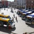 I nuovi mezzi di Busitalia in piazza a Rovigo - Foto Gruppo FSI