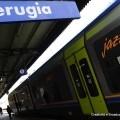 Il treno Jazz a Perugia - Foto Gruppo Ferrovie dello Stato Italiane