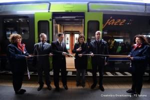 Il presidente della regione Umbria e l'Ad di Trenitalia - Foto Gruppo Ferrovie dello Stato Italiane
