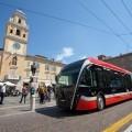 Il nuovo filobus eBus di Parma - Foto Tep