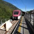 Un moderno Coradia in sosta a Marilleva 900, attuale capolinea della ferrovia - Foto Gabriele Palmieri