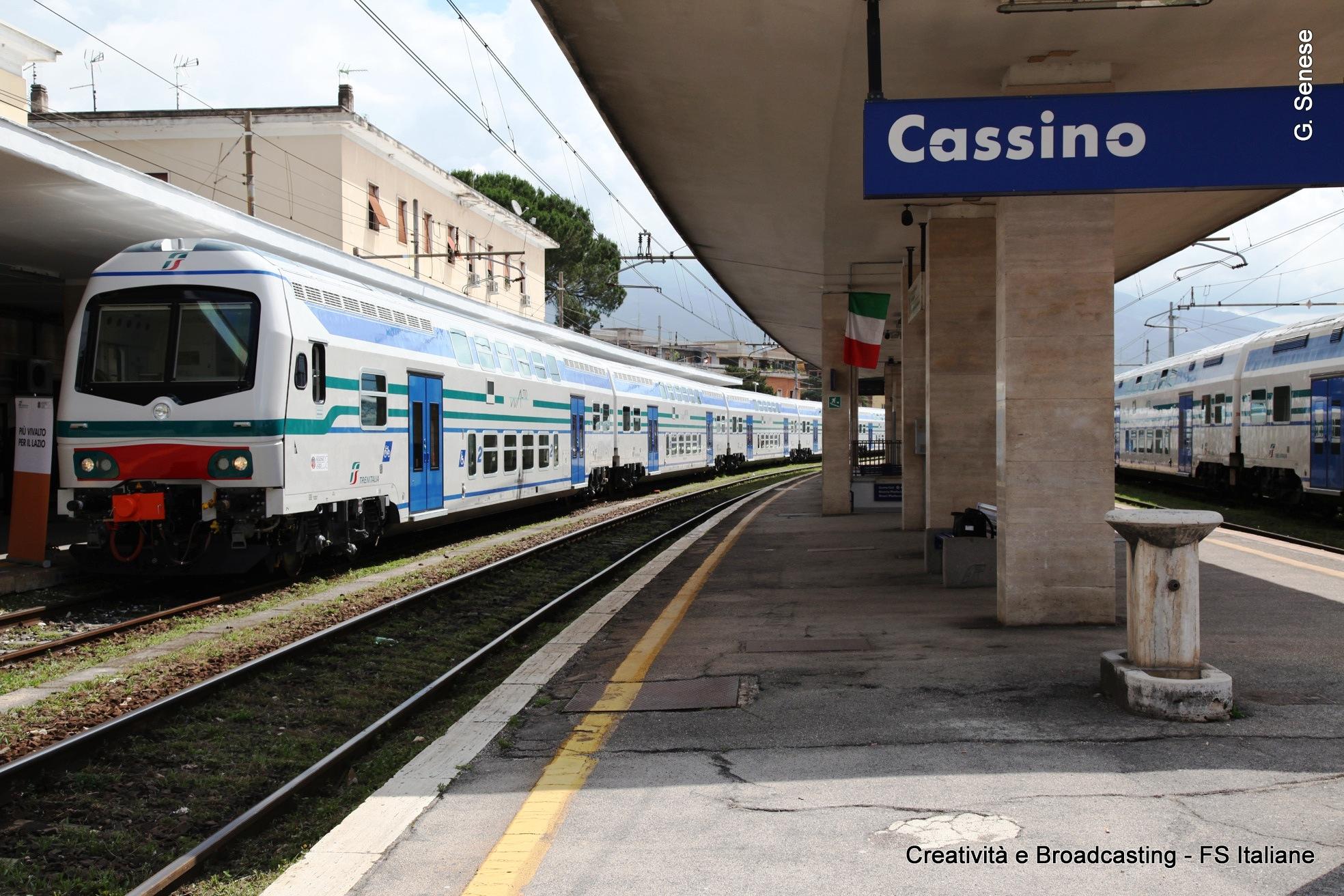 Il nuovo Vivalto per la Fl6 Roma-Frosinone-Cassino - Foto Senese/Gruppo Fs Italiane