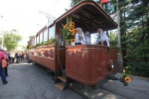 Il Tram storico n.6 a Cologna - Foto Comune di Trieste