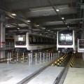 Treni della Metro C in sosta nel deposito Graniti - Foto Gabriele Palmieri