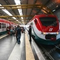 Leonardo Express nella stazione di Fiumicino Aeroporto - Foto David Campione (Ferrovie.it)