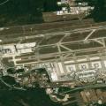 Veduta aerea dell'aeroporto di Milano Malpensa