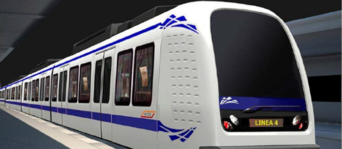 Metro Milano Linea 4 Driverless - Fonte AnsaldoBreda