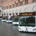 I nuovi bus Tiemme per il bacino di Siena Foto Tiemme