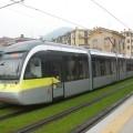 Il tram Sirio di TEB in servizio sulla linea Bergamo-Albino - Foto Giovanni Giglio