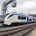 Una doppia di Minuetti Diesel in sosta ad Arma di Taggia pronta a percorrere la linea tra Cuneo e Ventimiglia - Foto Francesco Liberali (Trenomania.org)