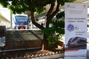 Presentazione a Palermo Centrale dei nuovi collegamenti veloci Palermo-Catania - Foto Gruppo Ferrovie dello Stato Italiane