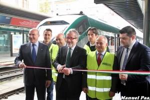 L'Ad del Gruppo FS Italiane Mario Elia e il presidente della Regione Lombardia Roberto Maroni - Foto Manuel Paa