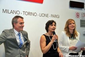 Conferenza stampa presso la boutique SNCF di Milano Garibaldi - Foto Manuel Paa
