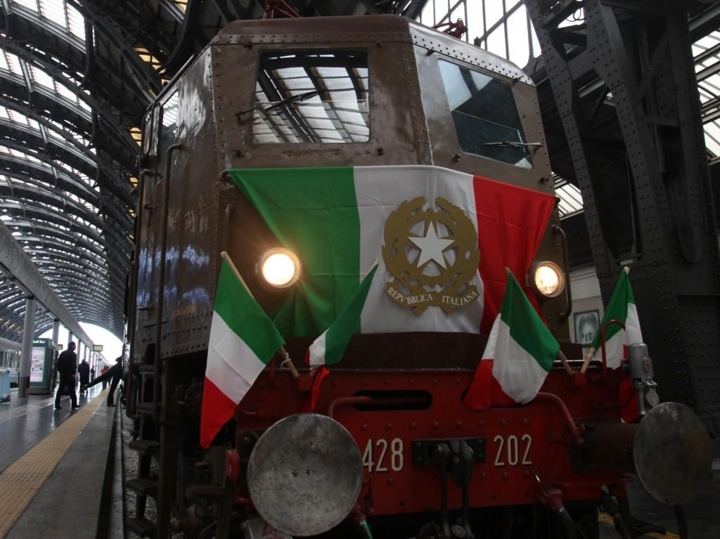 Treno Presidenziale- Foto Gruppo Ferrovie dello Stato Italiane