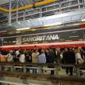 La nuova locomotiva TRAXX E483 realizzata da Bombardier per Sangritana - Foto Sangritana
