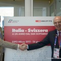 Andreas Meyer, CEO FFS, e Michele Mario Elia, AD Gruppo FS Italiane - Foto Gruppo FS Italiane