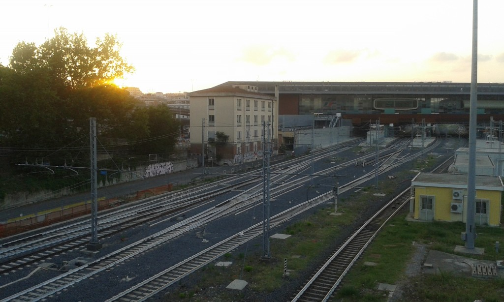 Il ferrotel di Roma Tiburtina