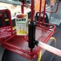 Tornello di ingresso installati sui bus di Bologna - Foto Tper