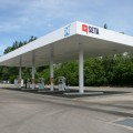 Il moderno impianto a metano di Modena - Foto Seta
