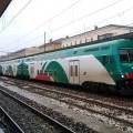 Un Convoglio Vivalto di Tper in sosta in stazione a Bologna - Foto Giovanni Giglio