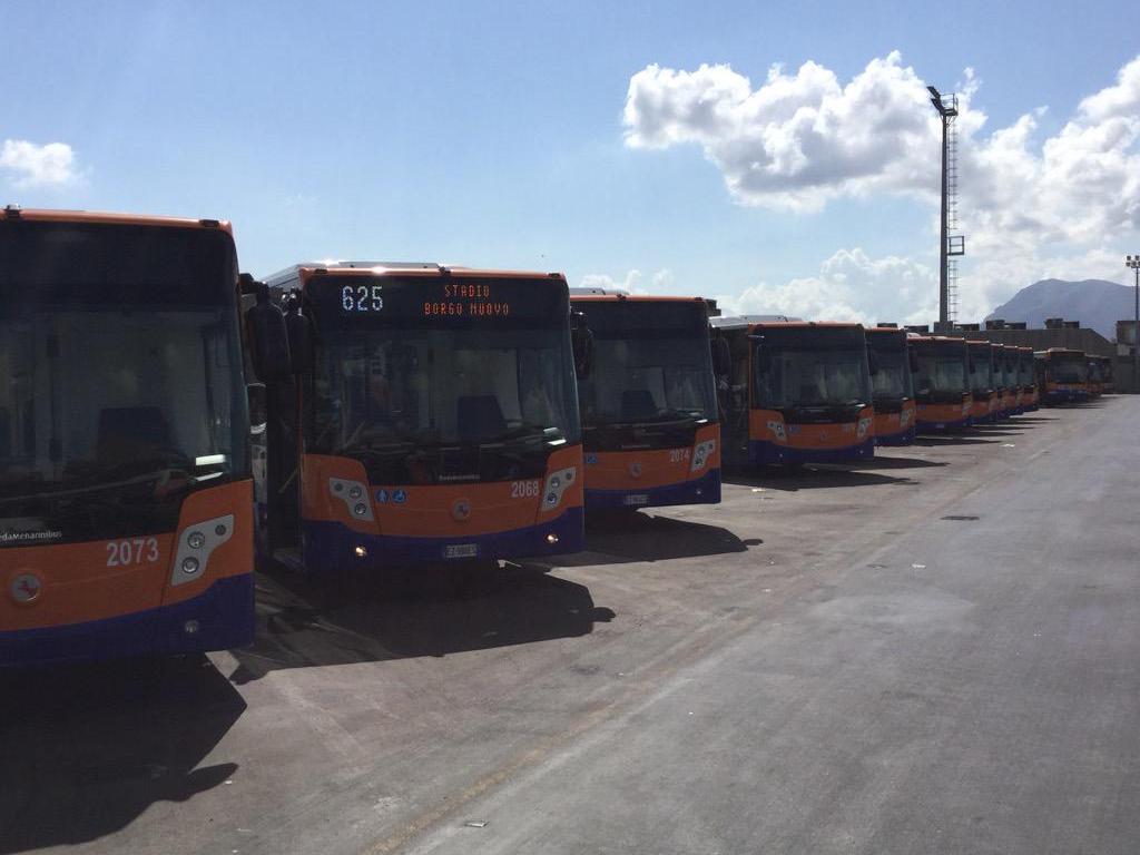 Nuovi bus a palermo per la flotta amat gazzetta dei for Mobilita palermo