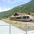 Gtw SAD in servizio lungo la linea della Val Venosta - Foto Giovanni Giglio