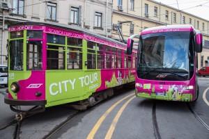 Tram e bus nella livrea city tour di ATM - Foto ATM Milano
