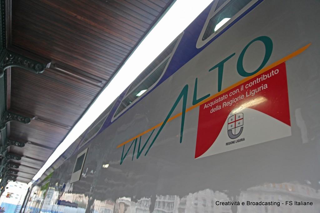 Convoglio Vivalto per la Regione Liguria - Foto FS Italiane