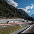 Convoglio ICE-S durante i test sulla NFTA San Gottardo - AlpTransit San Gottardo SA