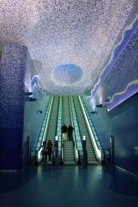 Stazione Toledo della Metropolitana di Napoli - Foto ANM