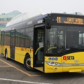 Il nuovo bus Solaris Urbino12 a metano - Foto Seta
