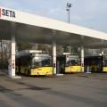 Il distributore a metano di Seta a Modena - Foto Seta