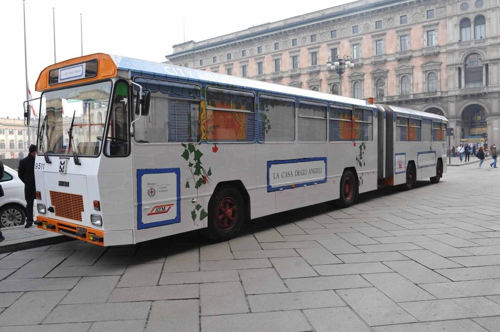 """Il bus """"Casa degli Angeli"""" - Foto ATM"""