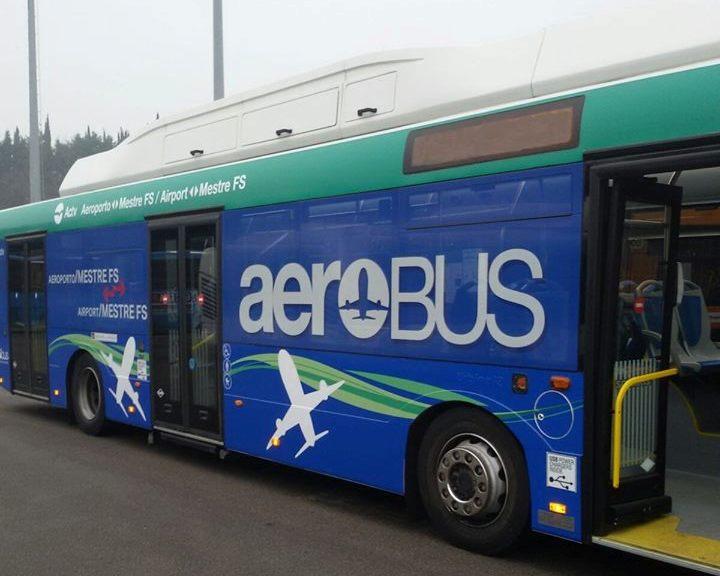 La nuova livrea Aerobus di Venezia - Foto Actv